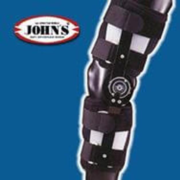 John\'s Κηδεμόνας Μηροκνημικός Με Πολυκεντρική Ρύθμιση 40 One Size 23902