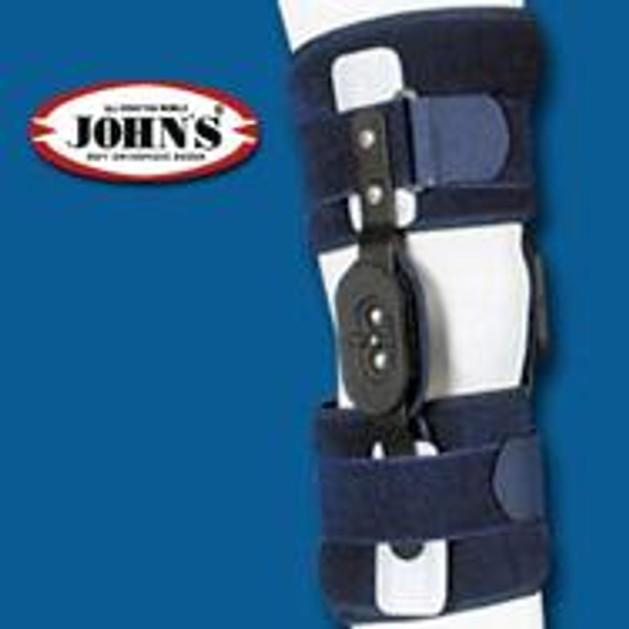 John\'s Κηδεμόνας Μηροκνημικός Με Πολυκεντρική Ρύθμιση 35cm One Size 239020