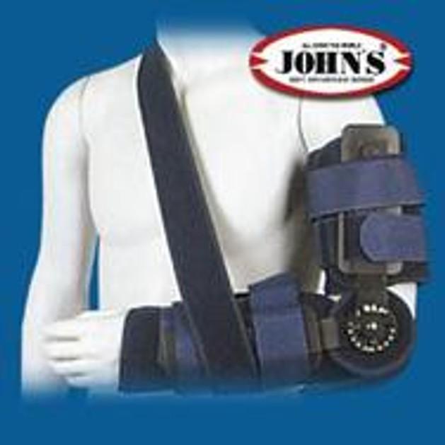 John\'s Κηδεμόνας Αγκώνα Με Πολυκεντρική Ρύθμιση One Size 23923