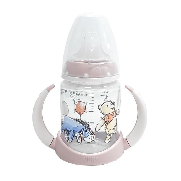 Nuk First Choice Disney Winnie the Pooh Μπιμπερό Εκπαίδευσης με Ρύγχος Σιλικόνης (6-18 Μηνών) 150ml