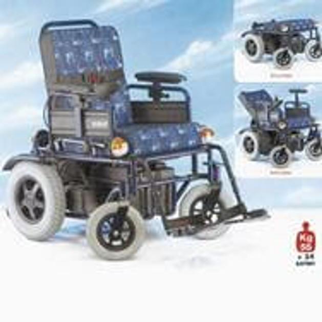 John\'s Ηλεκτροκίνητο Αναπηρικό Αμαξίδιο Maxi 750 240750