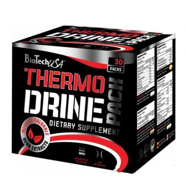 Biotech USA - Θερμογεννετικοί Λιποδιαλύτες - Thermo Drine Pack - 30 packs