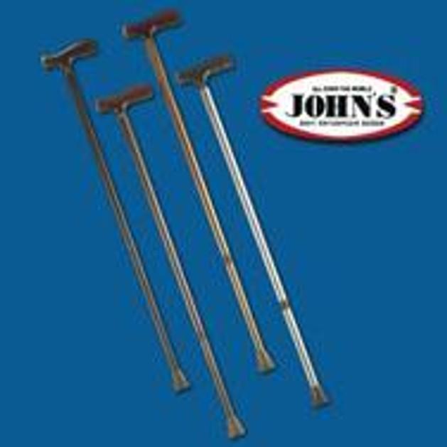 John\'s Μετ/κο Ρυθμιζόμενο Λαβή Ταφ  77-100cm 26109