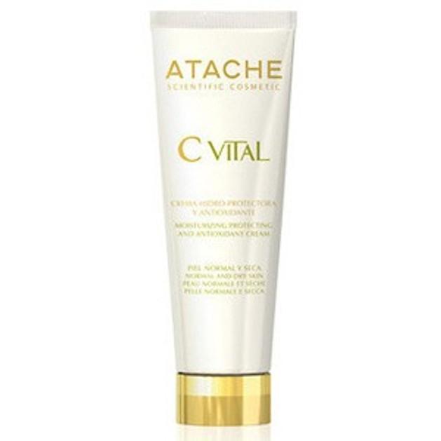 Atache C Vital AHA Gel Oil Free Ενυδατικό Τζελ για Μικτές/Λιπαρές Επιδερμίδες 50ml