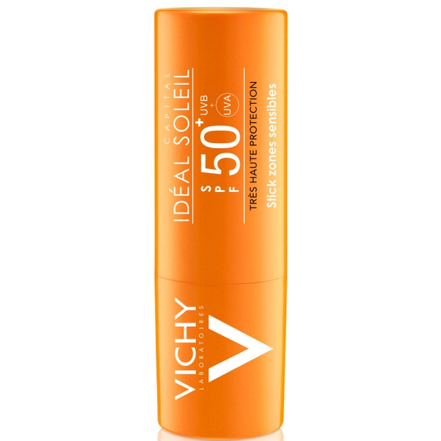 Ideal Soleil Stick Zones Sensibles Spf50+, 9gr - Vichy