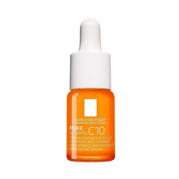 Δώρο La Roche-Posay Pure Vitamin C10 Αντιοξειδωτικός, Αντιρυτιδικός, Αναζωογονητικός Ορός Λάμψης με Καθαρή Βιταμίνη C 10ml
