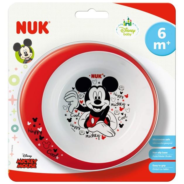 Nuk Disney Mickey Μπολ Εκπαίδευσης Φαγητού 6m+ 1τμχ
