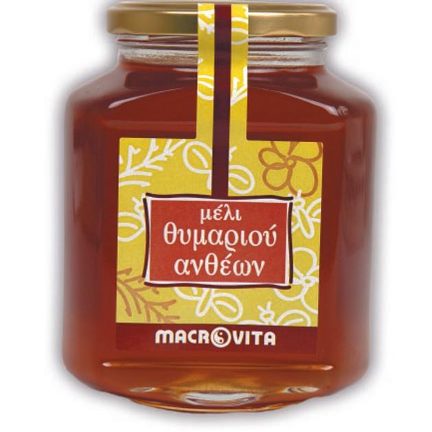 Macrovita Μέλι Θυμαριού Ανθέων 400gr