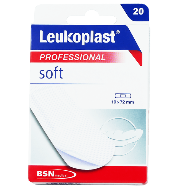BSN Medical Leukoplast Professional Soft Αυτοκόλλητα Επιθέματα 20 Τεμάχια
