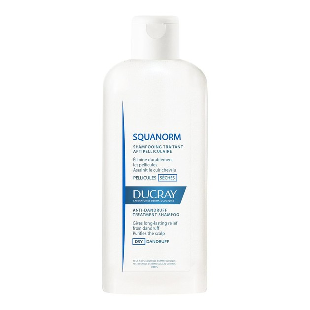 Ducray Squanorm Shampooing Pellicules Seches 200ml