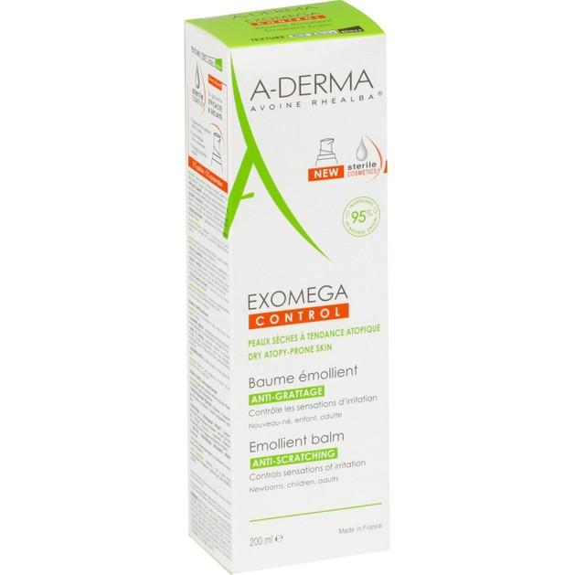 A-Derma Exomega Baume Κρέμα για Ατοπικό & Πολύ Ξηρό Δέρμα 200ml