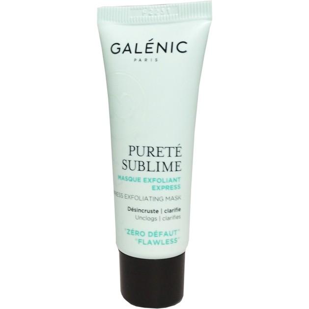 Δώρο Galenic Mini Sizer Purete Sublime Masque Exfoliant Express Απολεπιστική Μάσκα Καθαρισμού Προσώπου 15ml
