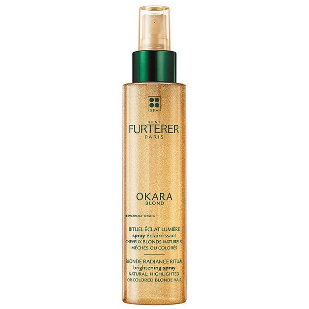 Rene Furterer Okara Blond Rituel Eclat Lumiere Spray Φροντίδα Λάμψης Χωρίς Ξέπλυμα για Μαλλιά Φυσικά Ξανθά ή Βαμμένα 150ml