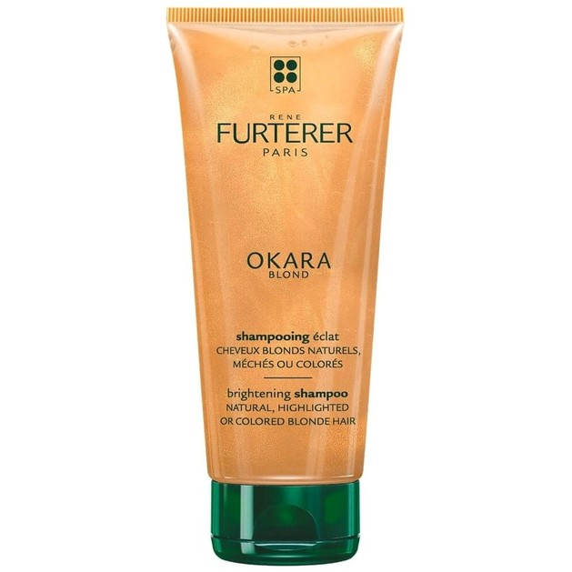 Rene Furterer Okara Blond Shampooing Eclat Σαμπουάν Λάμψης για Φυσικά Ξανθά ή Βαμμένα Μαλλιά 200ml