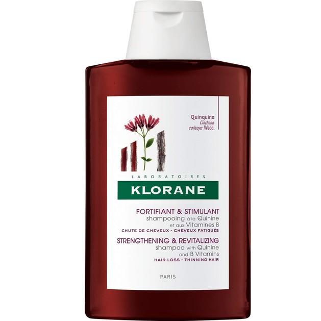 Klorane Travel Size Strengthening & Revitalizing Shampoo Quinine Σαμπουάν με Κινίνη για Τόνωση & Δύναμη στα Αδύναμα Μαλλιά 100ml