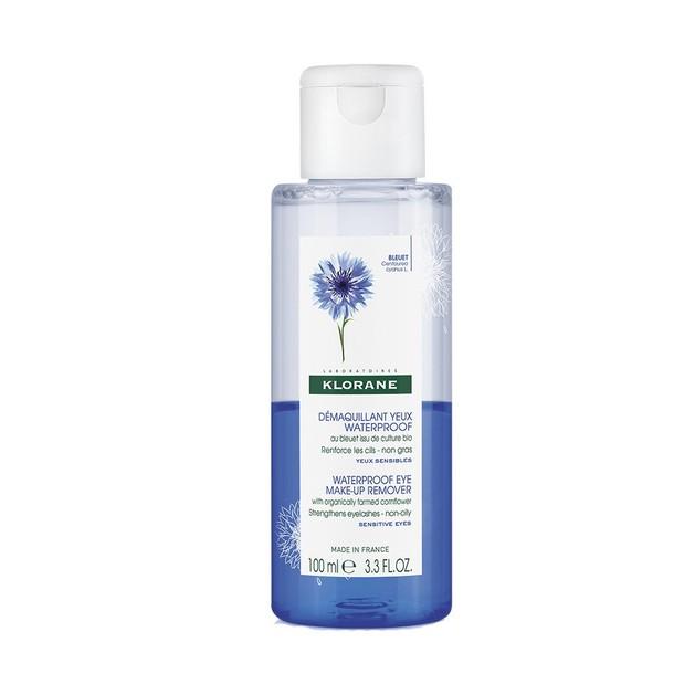 Klorane Demaquillant Yeux Waterproof au Bleuet Apaisant 100ml