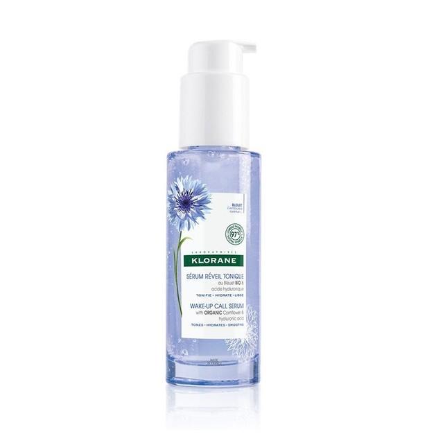 Klorane Bleuet Wake-Up Call Serum With Organic Cornflower & Hyalouronic Acid Ενυδατικός Ορός για Πρόσωπο & Λαιμό 50ml