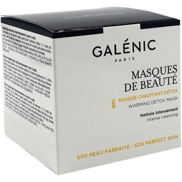 Galenic Masques De Beaute Chauffant Detox Θερμαντική Μάσκα για Αποτονίξωση 50ml