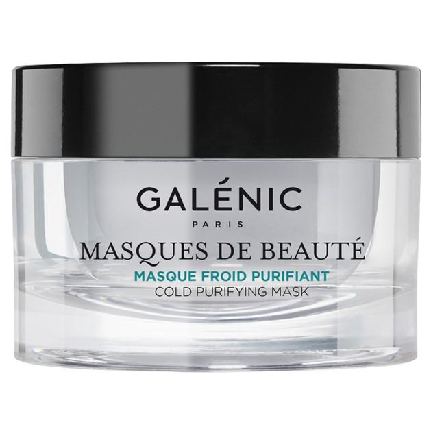 Galenic Masque Froid Purifiant Κρύα Μάσκα Καθαρισμού, Συστέλλει τους Πόρους & Βελτιώνει την Υφή & την Όψη της Επιδερμίδας 50ml