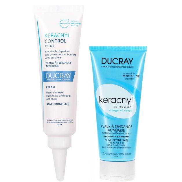 Ducray Πακέτο Προσφοράς Keracnyl Control Creme 30ml & Δώρο Keracnyl Gel Moussant 40ml