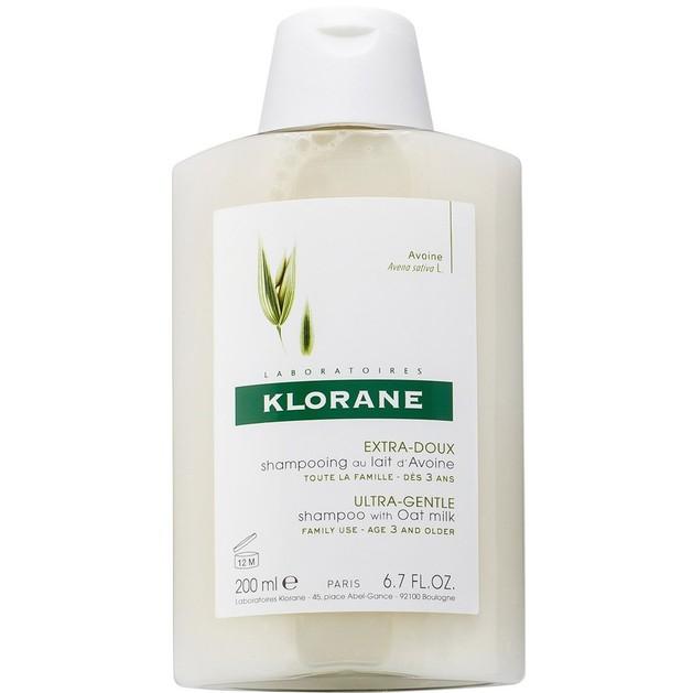 Klorane Extra-Doux Shampooing au Lait d\' Avoine Σαμπουάν με Βρώμη για Έξτρα Απαλότητα & Προστασία 200ml Promo -25%