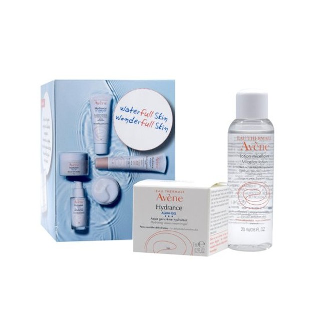 Δώρο Avene Box Hydrance Aqua-Gel Ενυδατική Κρέμα Προσώπου 7ml & Avene Lotion Micellaire 20ml
