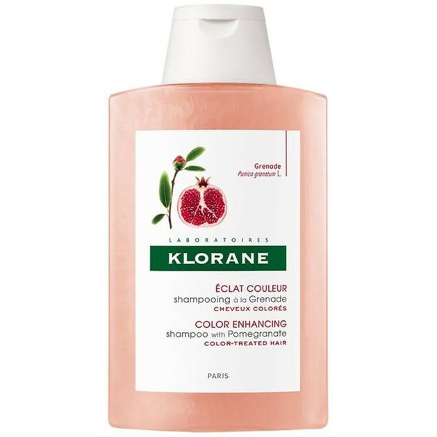Klorane Shampooing a la Grenade Σαμπουάν με Εκχύλισμα Ροδιού για Βαμμένα Μαλλιά 200ml Promo -25%