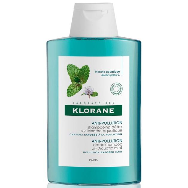 Klorane Anti-Pollution Detox Shampoo Σαμπουάν με Υδάτινη Μέντα για Μαλλιά Εκτεθειμένα στην Ρύπανση 200ml Promo -25%