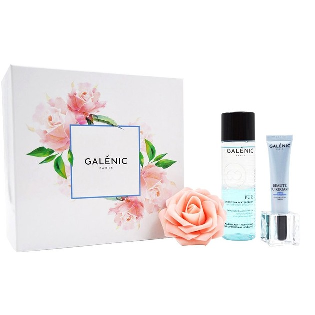 Galenic Promo Beaute Du Regard Cryo-Booster Cream 15ml & Pur Lotion Yeux Waterproof Demaquillant Netttoyant 125ml