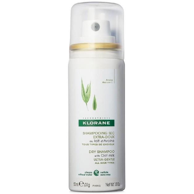 Δώρο Klorane Shampooing Sec au Lait d\'avoine Shampoo για Ξηρό Λούσιμο με Εκχύλισμα Βρώμης, για \'Ολους τους Τύπους Μαλλιών 50ml