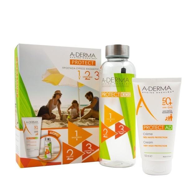 A-Derma Protect AD Creme Spf50+ 150ml & Δώρο Παιδικό Παγούρι