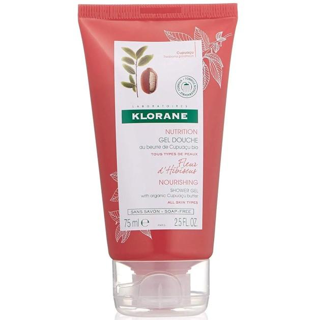 Δώρο Klorane Travel Size Nourishing Shower Gel, Organic Cupuacu Butter Hibiscus Flower Απαλό Αφρόλουτρο με Άνθος Ιβίσκου 75ml