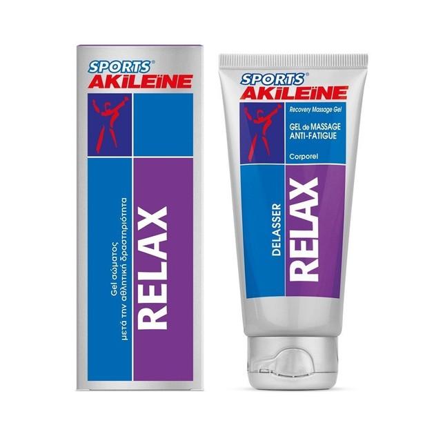 Akileine Sport Relax Gel Σώματος Μετά την Αθλητική Δραστηριότητα 75ml