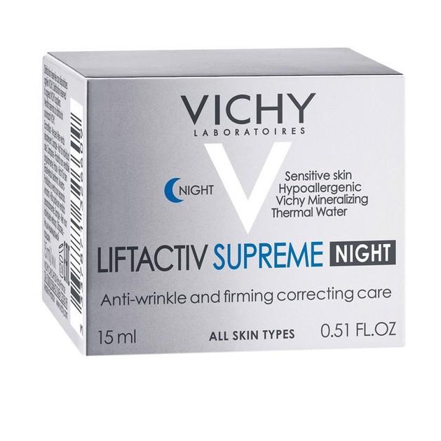 Δώρο Vichy Liftactiv Nuit Supreme Αντιρυτιδική Κρέμα Νύχτας με Αποτέλεσμα Lifting Μεγάλης Διάρκειας και Συσφικτική Φροντίδα 15ml