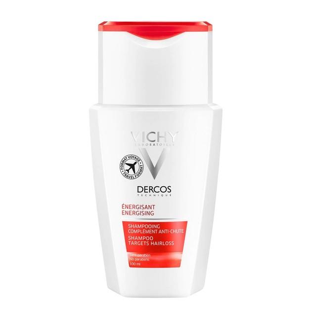 Δώρο Vichy Dercos Shampoo Energisant Travel Size Δυναμωτικό Σαμπουάν Κατά της Τριχόπτωσης 100ml