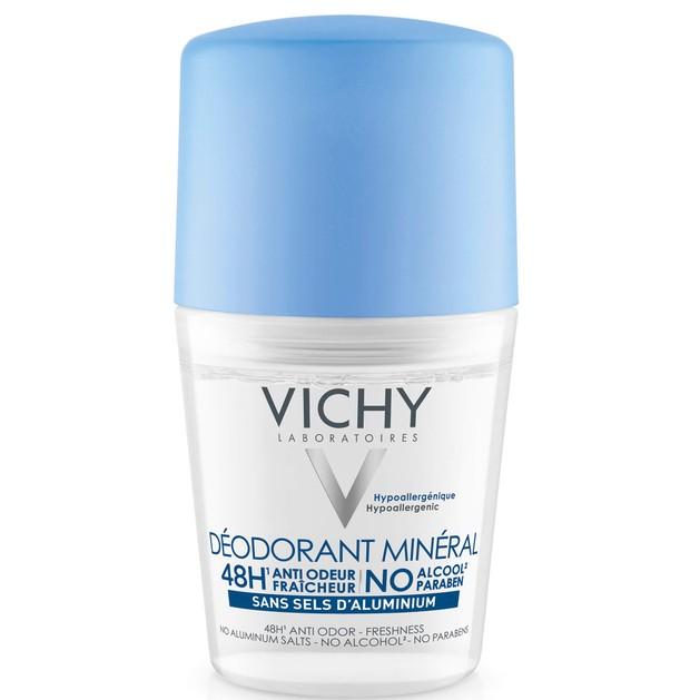 Deodorant Mineral Roll On 50ml - Vichy