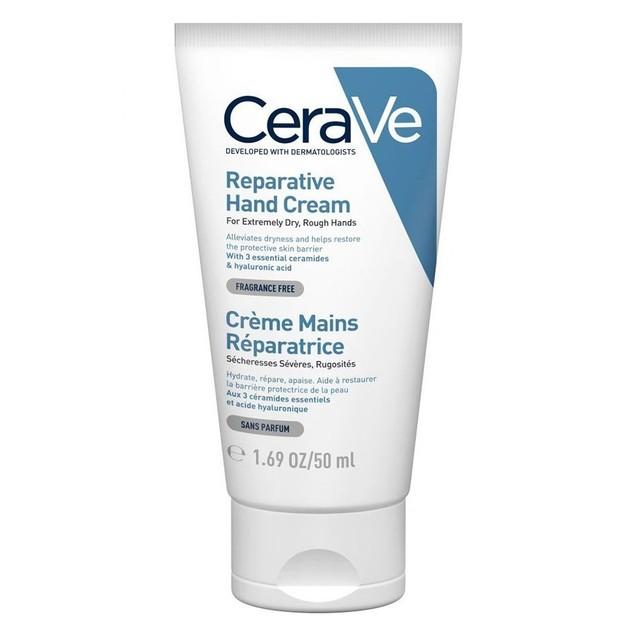 CeraVe Reparative Hand Cream Επανορθωτική Κρέμα Χεριών για Πολύ Ξηρά, Τραχιά Χέρια 50ml