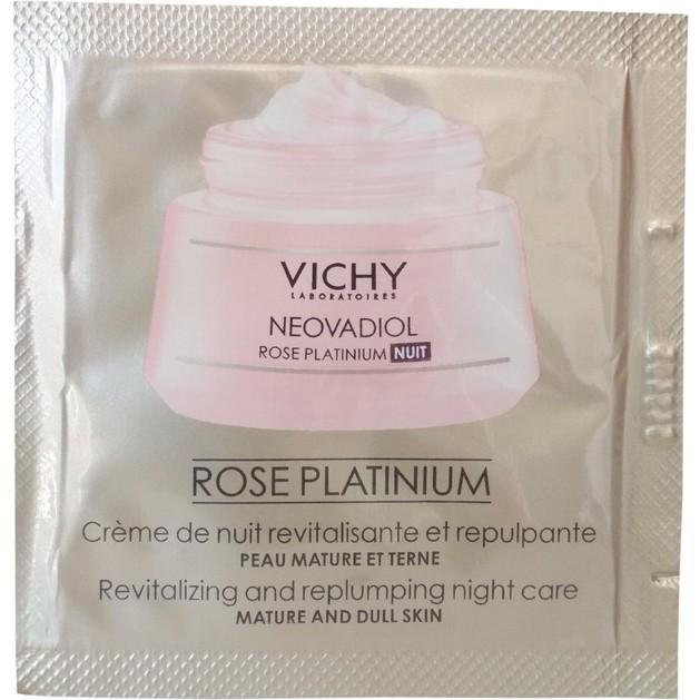 Δείγμα Νέα Vichy Neovadiol Rose Platinium Night Φροντίδα της Ώριμης & Θαμπής Επιδερμίδας από την Εμμηνόπαυση & Μετά 1.5ml