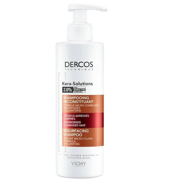 Vichy Dercos Kera-Solutions Resurfacing Σαμπουάν για Ξηρά Μαλλιά 250ml