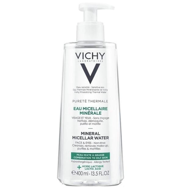 Vichy Purete Thermale Mineral Micellar Water για Μικτή - Λιπαρή Επιδερμίδα  400ml