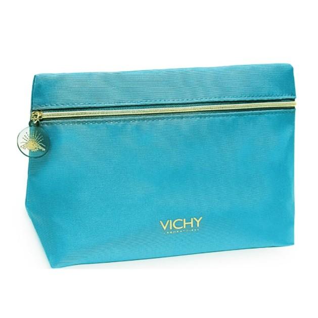 Δώρο Vichy Woman Pouch Blue Συλλεκτικό Νεσεσέρ 1 Τεμάχιο