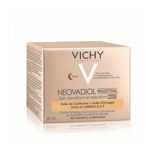 Vichy Neovadiol Magistral Night Omega 3-6-9 Φροντίδα Νύχτας για Αύξηση Πυκνότητας & Αναπλήρωση των Λιπιδίων 50ml
