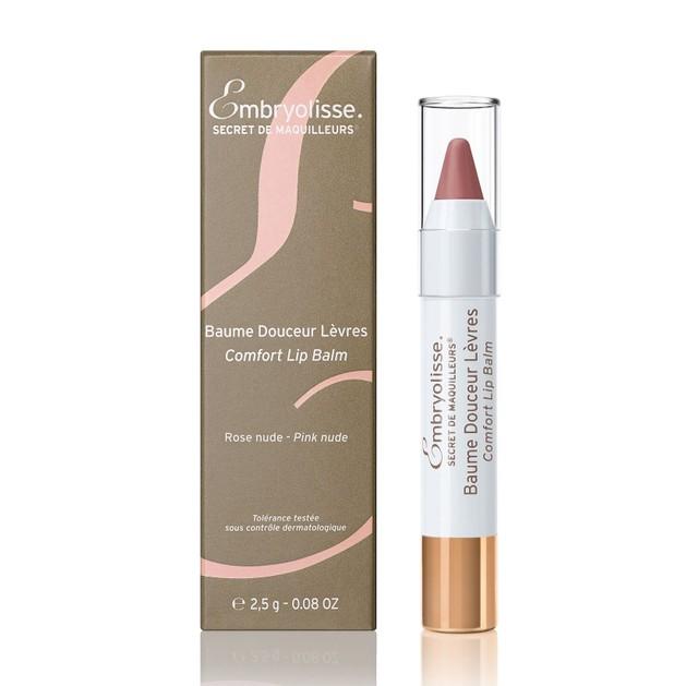Embryolisse Secret de Maquilleurs Comfort Lip Balm Tinted Pink Nude Φροντίδα Εντατικής Ενυδάτωσης για τα Χείλη 2.5g