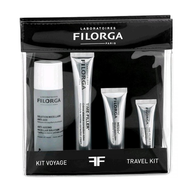 Filorga Promo Solution Micellaire Anti-Age 50ml & Time-Filler Κρέμα 15ml & Meso+ Serum 10ml & Time Filler Eyes 4ml