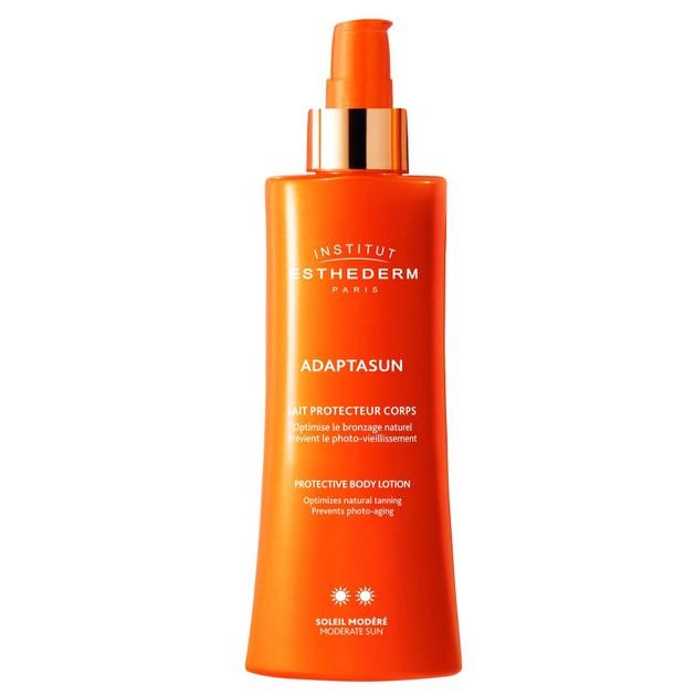 Institut Esthederm Adaptasun Protective Body Lotion Moderate Sun Βοηθά το Δέρμα να Προσαρμοστεί στις Επιδράσεις του Ήλιου 200ml