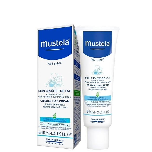 Mustela Cradle Cap Cream Καταπραϋντική Κρέμα για τη Νινίδα 40ml