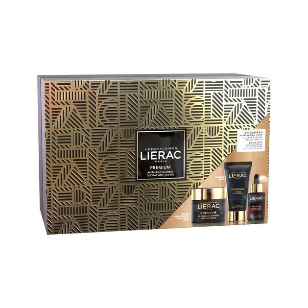 Lierac Gift Box Premium la Creme Voluptueuse 50ml & Le Masque Anti-Age Absolu 75ml & Δώρο Booster Serum 30ml