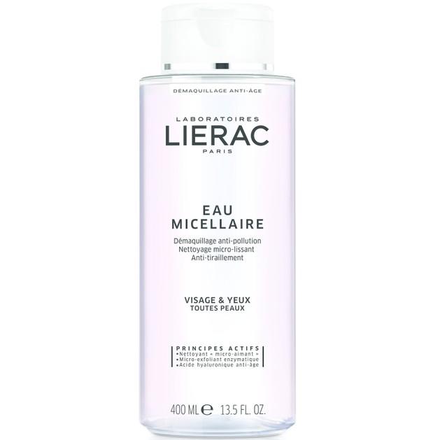 Lierac Eau Micellaire Anti-Pollution Demaquillage 400ml