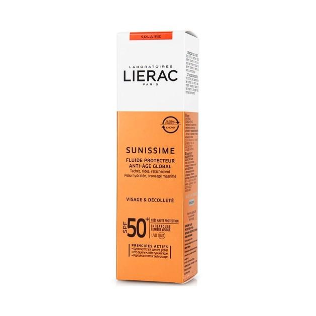 Δώρο Lierac Sunissime Fluide Protecteur SPF50+ 10ml