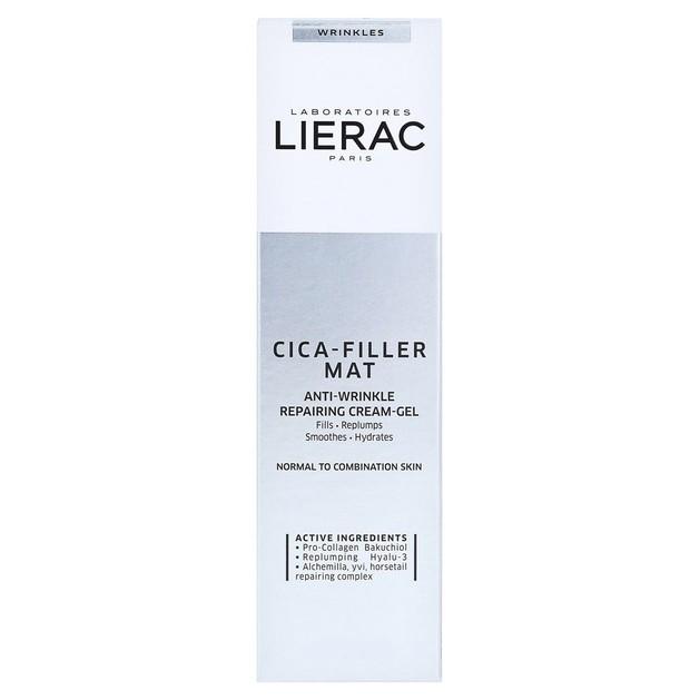 Δώρο Lierac Cica-Filler Mat Anti-Wrinkle Repairing Cream-Gel Αντιρυτιδική Επανόρθωση για Κανονικές/Μικτές Επιδερμίδες 10ml